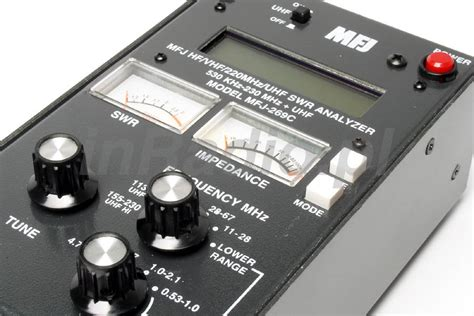 mfj    mhz   mhz antenna analyzer worldwide delivery mfj ebay