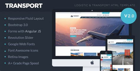 Transport Logistic Transportation Warehouse Html5 Template By Theemon Warehouse Website Template