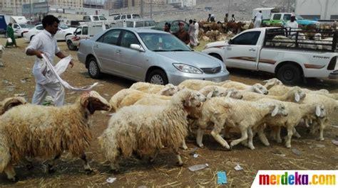 foto mengunjungi kakiyah pasar kambing terbesar
