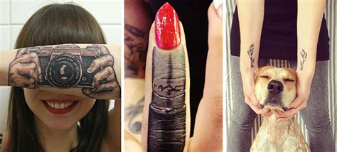 tattoo human body 30 interactive tattoos that playfully use the human body