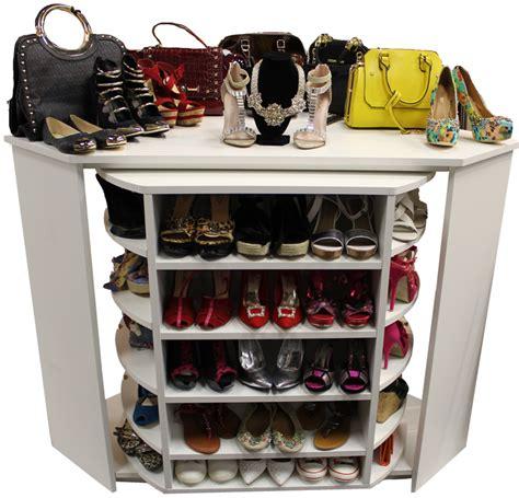 rotating closet organizer rack n roll americlosets custom and diy closet organizers