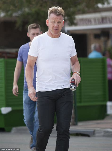 what kitchen nightmares to end after 10 years as gordon gordon ramsay shows new slicked back hair during night out