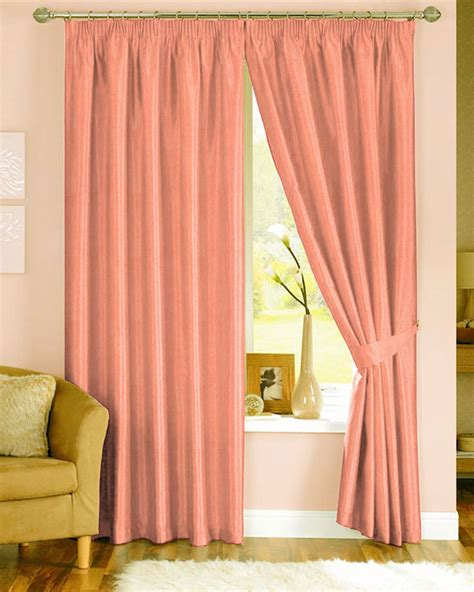 peach blackout curtains prestigious polo peach curtains