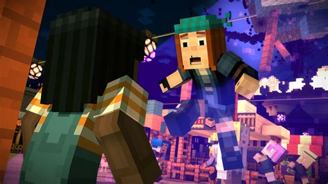 minecraft story mode about the game minecraft story mode telltale games