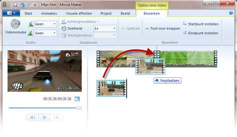 windows movie maker tutorial nederlands filmpjes monteren in windows movie maker
