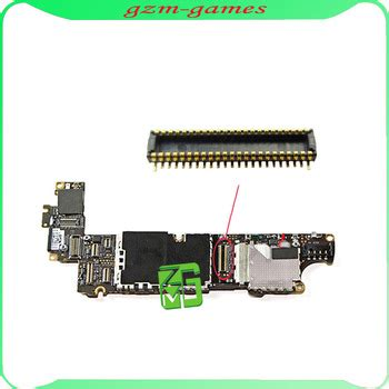 Iphone 5 Battery Port Fpc 1 oem factory dock flex fpc connector port for mainboard for iphone 4s replacement spare parts