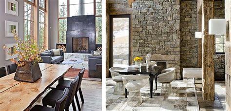 comedor rustico moderno idea spara decorar un comedores r 250 stico con chimenea
