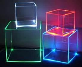 boxes that light up plexiglass