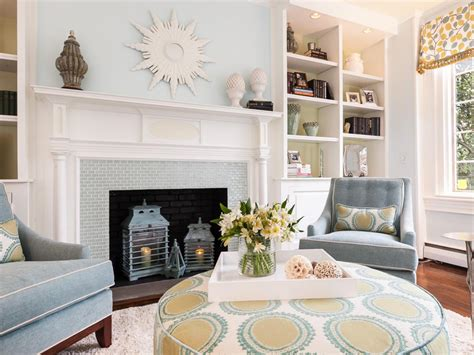 Transitional Living Room With Fireplace Photo Page Hgtv