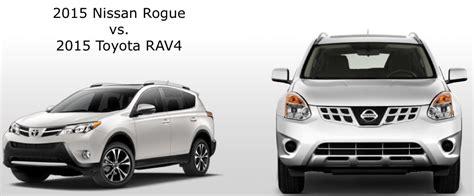 Toyota Rav4 Vs Nissan Rogue New 2015 Toyota Rav4 Vs Nissan Rogue Price Mpg Review