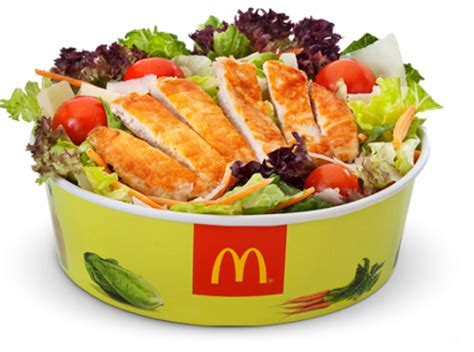 Grilled Chicken Salad Mcdonalds Vs Wendys by Grilled Chicken Caesar Salad Fast Food