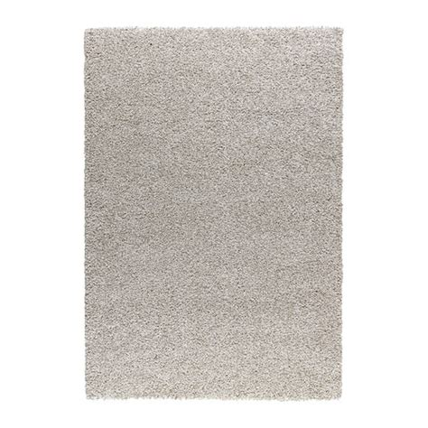 ikea rungs alhede rug high pile off white 133x195 cm ikea