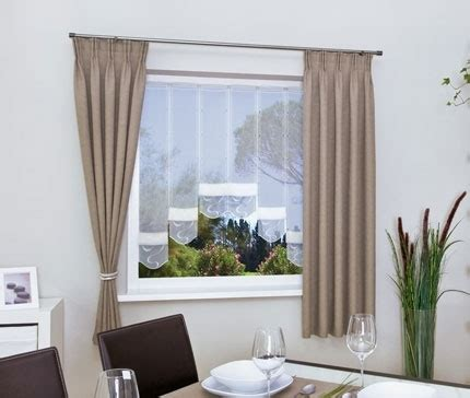Vorhang Fenster Kurz by Gardinen F 252 R Wohnzimmerfenster Haus Design Ideen