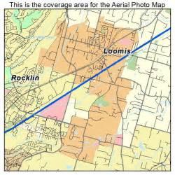 loomis california map aerial photography map of loomis ca california
