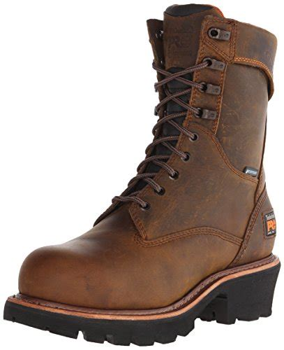 timberland logger boots timberland pro s 9 quot rip saw logger work boot the