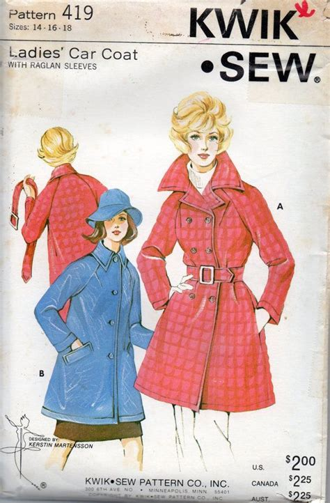 vinyl raincoat pattern 276 best 70s styles images on pinterest vintage sewing
