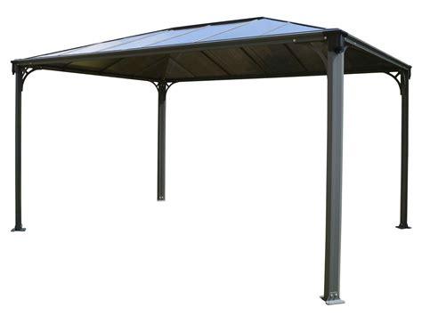 pavillon 2x4 palram gartenpavillon martinique 4200x3000 lidl