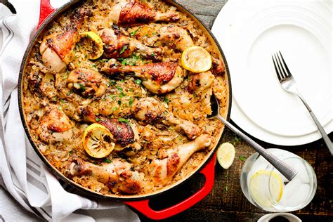 Kitchen Chicken Sorrentino Recipe by One Pot Roasted Chicken And Rice And The Kitchen