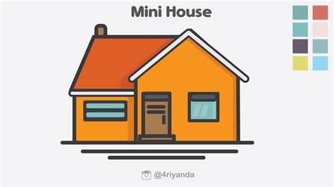 draw house illustrator how to create mini house icon illustration using adobe