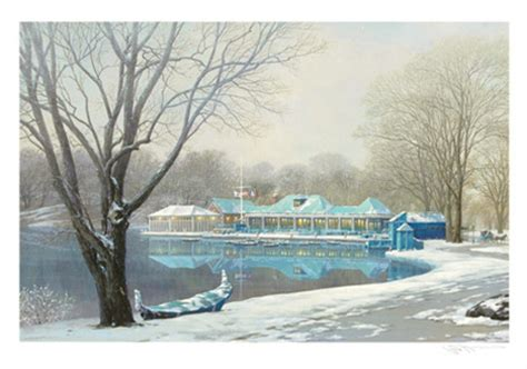 boat house york central park boathouse winter new york by alexander chen