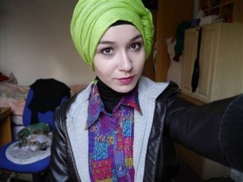 tutorial turban youtube hijab tutorial l side knot loose turban youtube