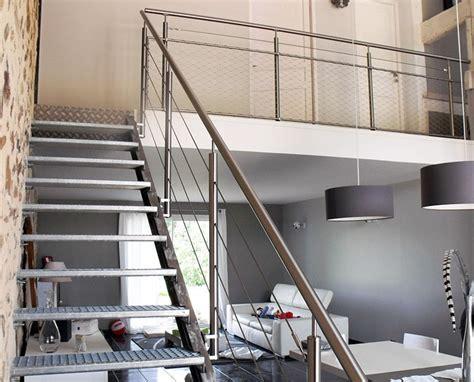 Installation Filet Mezzanine by Garde Corps 2 Cables Et Filet Partie Basse