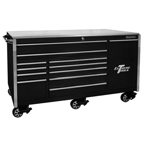 roller cabinet tool box extreme tools 76 12 professional roller cabinet