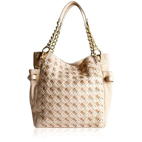 Fendi Woven Tote Supporting American Forests by Coach Peyton Woven Leather Tote