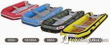 Perahu Karet Merk Zebec Korea Untuk Rescue Type 420 Armada 8 Orang waterpro