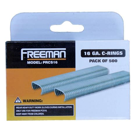 freeman 16 c ring staples prcs16 the home depot