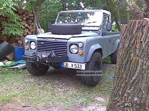 1985 land rover type 110 car photo and specs
