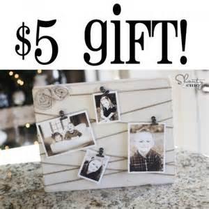 cheap gift ideas 5 gift idea three inexpensive gift ideas memo board diy