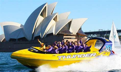 jet boat darling harbour thunder jet darling harbour in sydney groupon