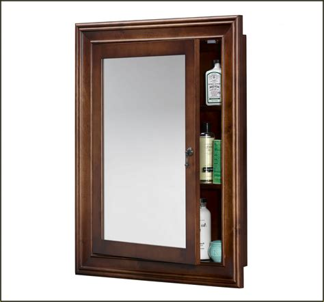 oak medicine cabinet without mirror your home improvements refference wood medicine cabinet