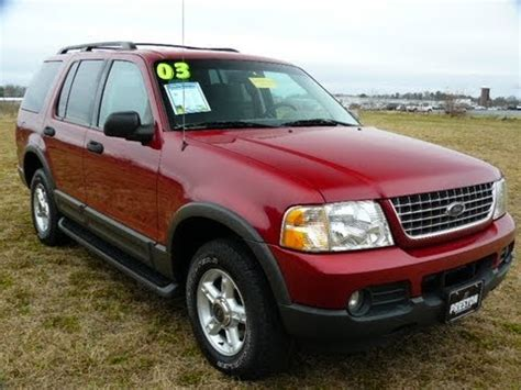 used 2010 ford explorer for sale carsforsale com cheap used car maryland 2003 ford explorer for sale youtube