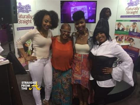 ms vaughn product spotted chrisette michele supports natural hair
