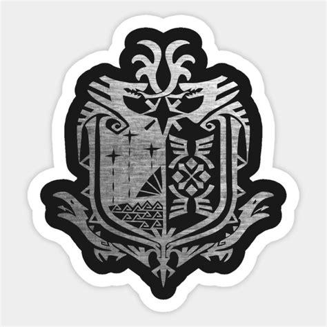 Monster Hunter Aufkleber by Monster Hunter World Monster Hunter Sticker Teepublic