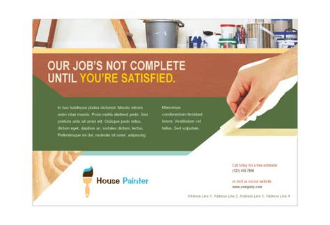 how to become a professional house painter image gallery house painting flyers