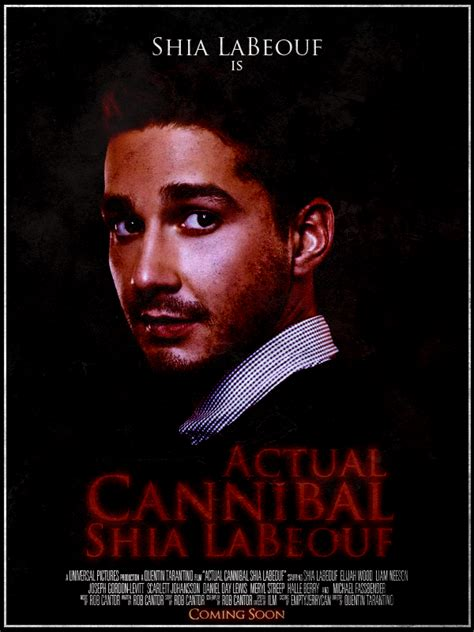 Cannibal Meme - actual cannibal shia labeouf know your meme