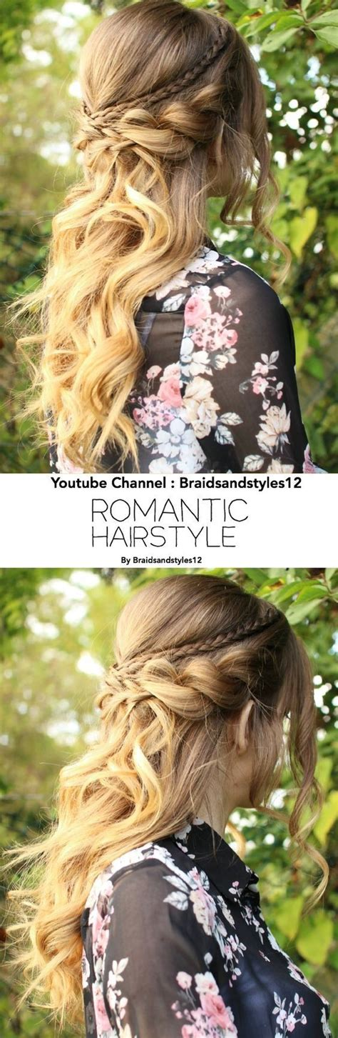 romantic hairstyles down 20 amazing braided hairstyles for homecoming wedding prom