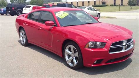 2012 DODGE CHARGER R/T HEMI 5.7 RED FOR SALE   YouTube