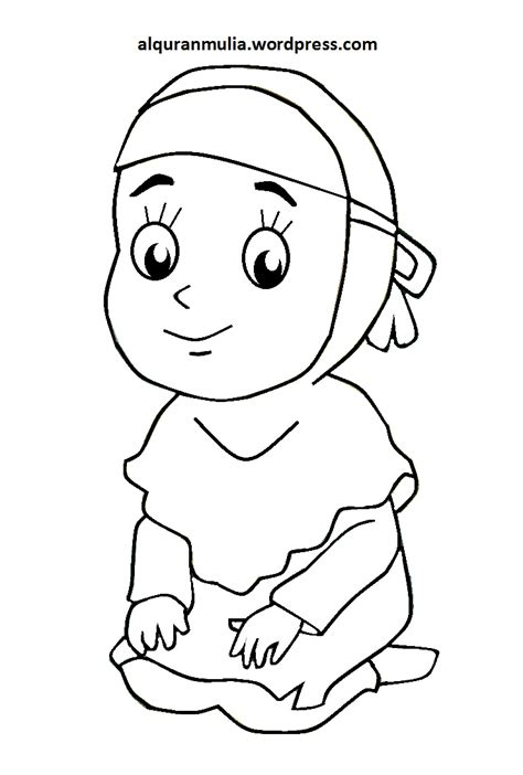 gambar wallpaper anak muslim gambar kartun anak muslim 100 mewarnai gambar kartun anak