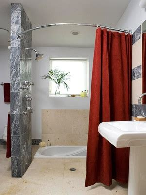 open shower curtain 17 best ideas about open showers on pinterest stone