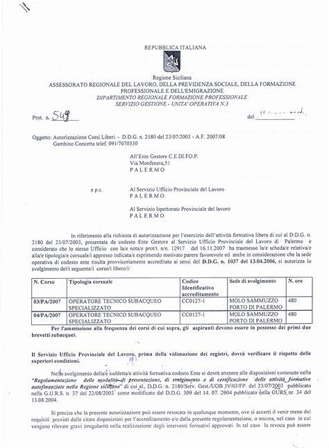 ufficio provinciale lavoro palermo corso libero n ro 02 pa 07 per o t s