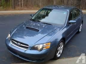 05 Subaru Legacy 05 Subaru Legacy Gt For Sale In Raleigh Carolina