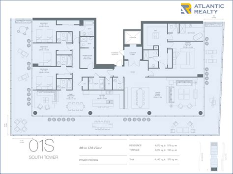 oceana key biscayne floor plans oceana key biscayne new florida beach homes