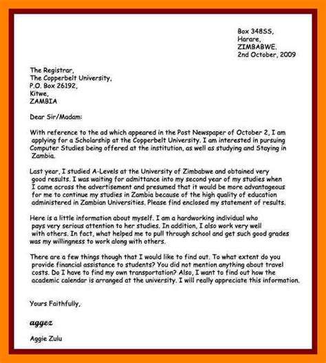 How To Write Application Letter As A In 28 Images 11 How To Write An Application Letter For