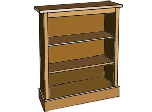 free woodworking plans how to make a bookcase