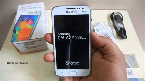 reset samsung core prime samsung galaxy core prime hard reset factory reset and