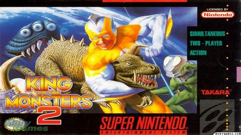 King Of The King 2 king of the monsters 2 snes